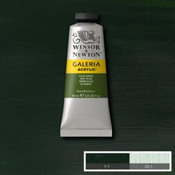 WN GALERIA ACRYLIC OLIVE GREEN 60ML 447
