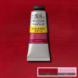 WN GALERIA ACRYLIC PERMANENT ALIZARIN CRIMSON 60ML 466