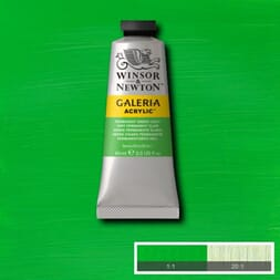WN GALERIA ACRYLIC PERMANENT GREEN LIGHT 60ML 483