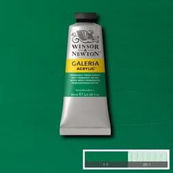 WN GALERIA ACRYLIC PERMANENT GREEN MIDDLE 60ML 484