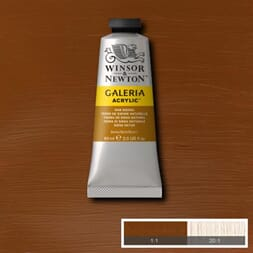 WN GALERIA ACRYLIC RAW SIENNA 60ML 552