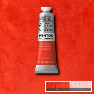 WN WINTON OIL 37ML 603 SCARLET LAKE