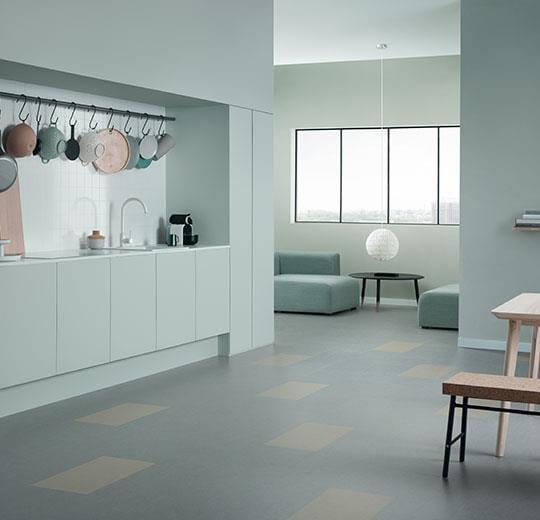 marmoleum click eternity 30x30cm 633866 forbo. Black Bedroom Furniture Sets. Home Design Ideas