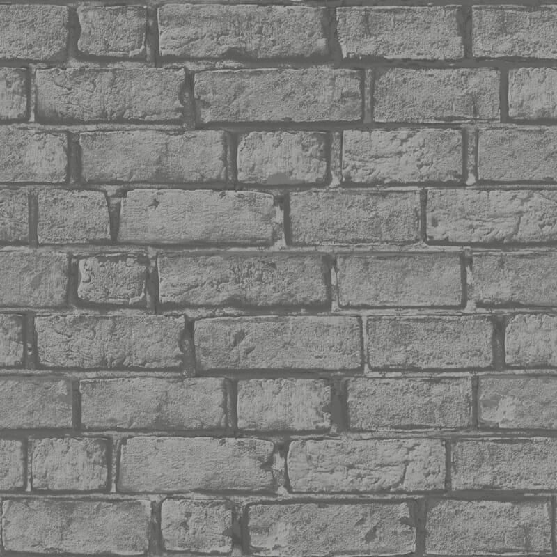 Lag en t?ff mursteinsvegg hjemme med dette tapetet. Passer like fint ...