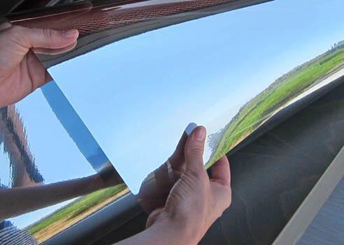 Solfilm speil